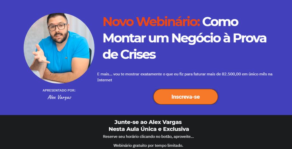 webnário ensina como montar um negócio a prova de crise